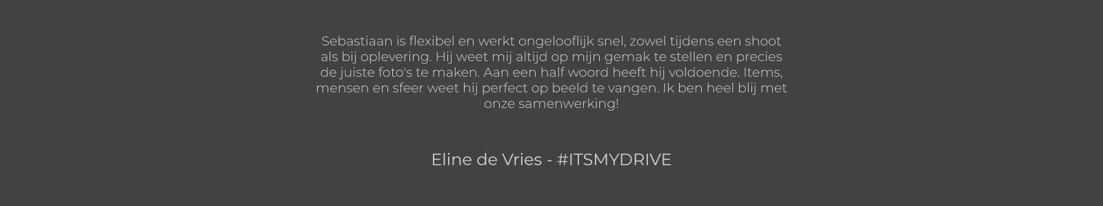 Eline de Vries - #ITSMYDRIVE